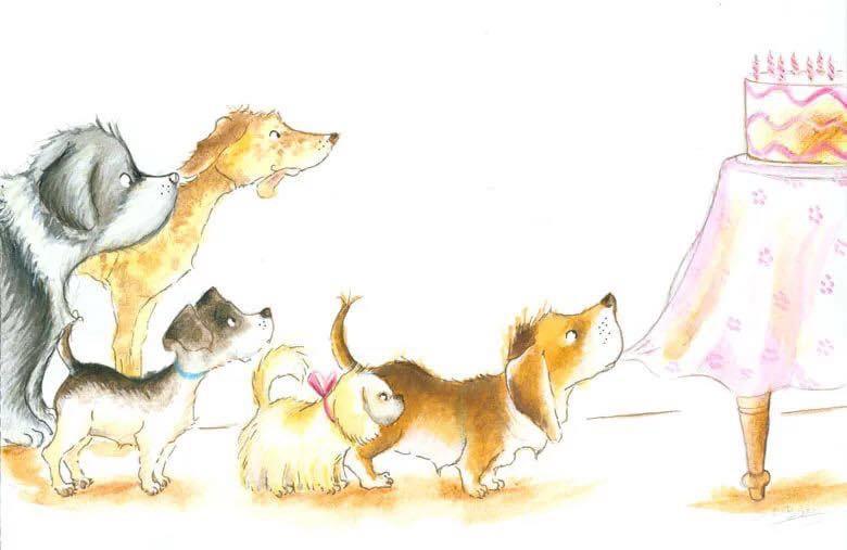Открытки днем, прикольные открытки с собаками с днем рождения